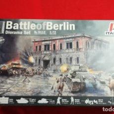 Maquetas: BATALLA DE BERLÍN- ITALERI - 1/72 - REF 6112. Lote 134183242
