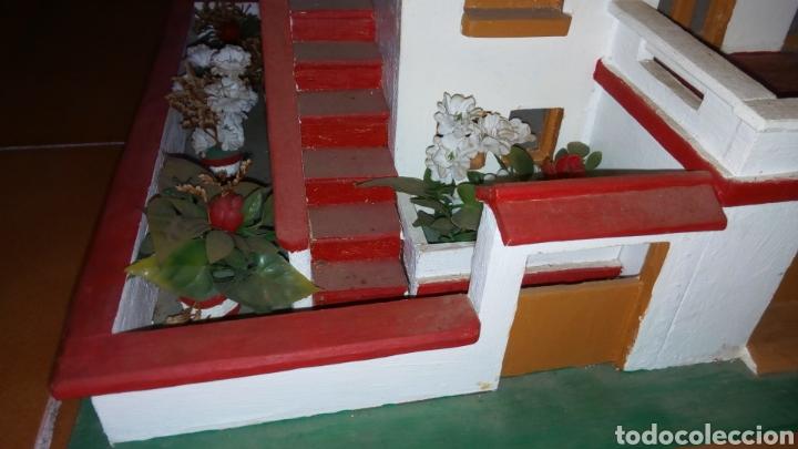 Maquetas: ANTIGUA MAQUETA AÑOS 70 CHALET.CASA MADERA. CON LUZ. CONSTRUCCIÓN. ARQUITECTURA - Foto 6 - 134261785