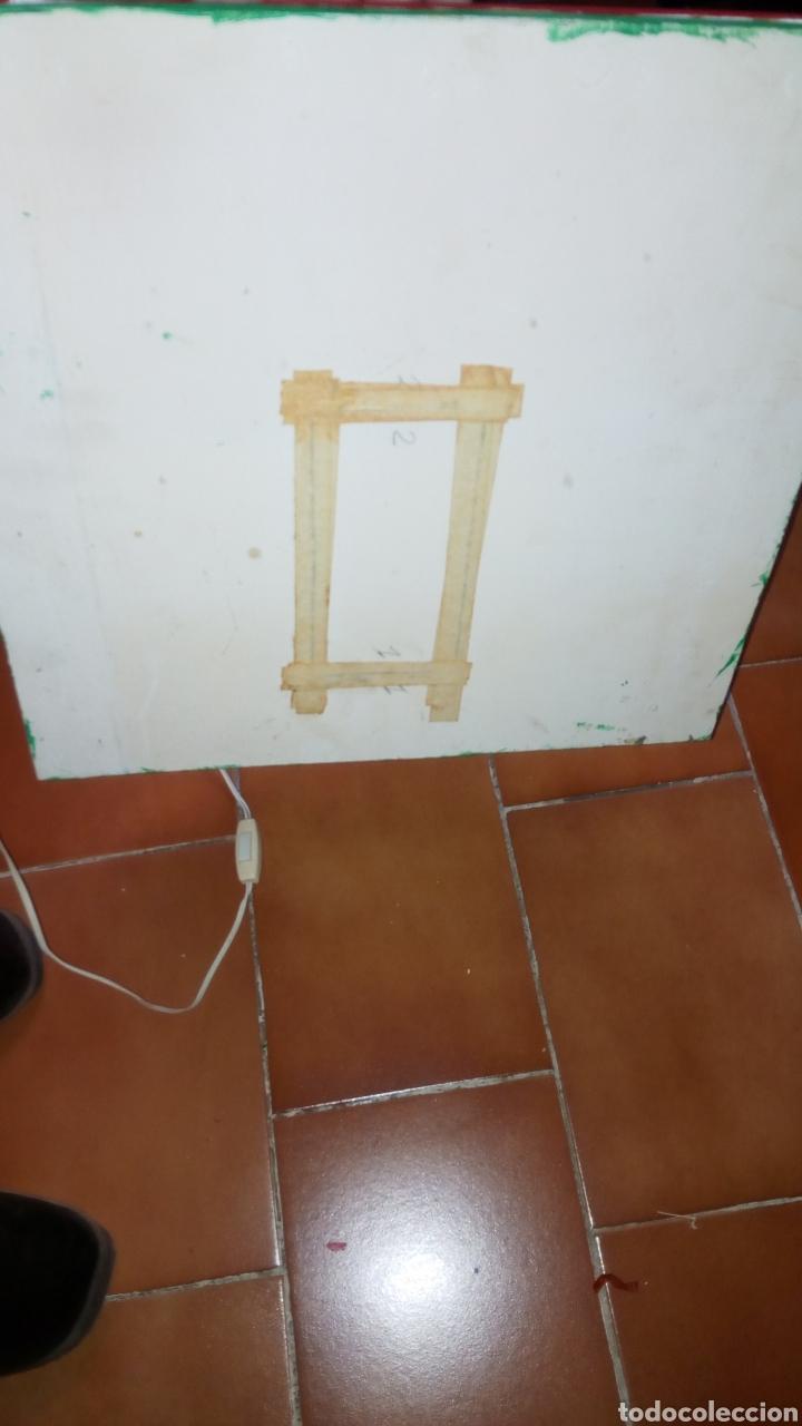 Maquetas: ANTIGUA MAQUETA AÑOS 70 CHALET.CASA MADERA. CON LUZ. CONSTRUCCIÓN. ARQUITECTURA - Foto 14 - 134261785
