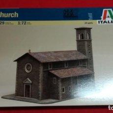 Maquetas: IGLESIA - ITALERI - 1/72 - REF 6129. Lote 134267986