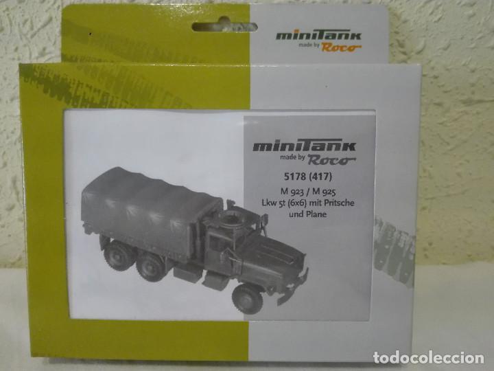 KIT CAMIÓN M-923/925, MINITANKS-ROCO ,REF.5178 (417) (Juguetes - Modelismo y Radiocontrol - Maquetas - Militar)