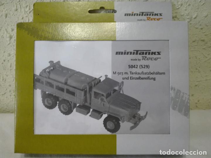 KIT CAMIÓN M-923 CON CISTERNAS, MINITANKS-ROCO ,REF.5042 (529) (Juguetes - Modelismo y Radiocontrol - Maquetas - Militar)