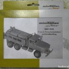 Maquetas: KIT CAMIÓN M-923 CON CISTERNAS, MINITANKS-ROCO ,REF.5042 (529). Lote 134764498