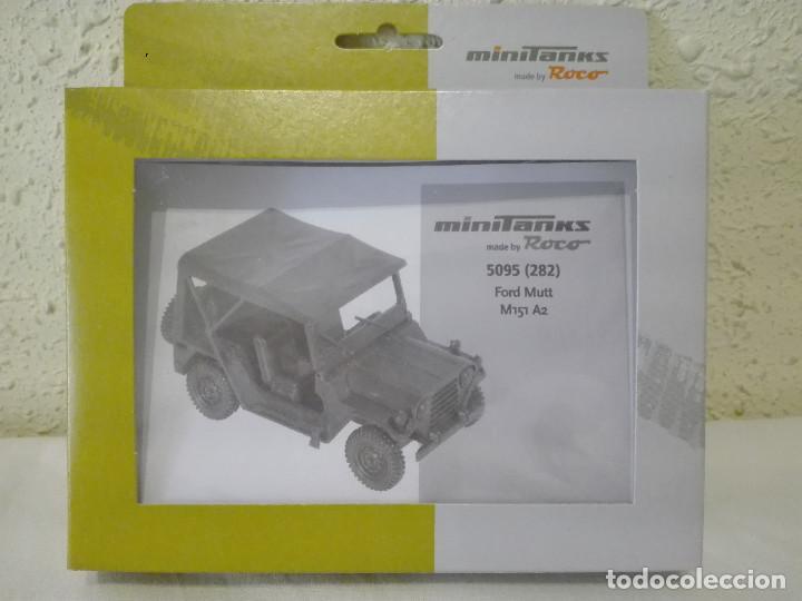 KIT JEEP FORD MUTT M-151-A2 , MINITANKS-ROCO ,REF.5094 (282) (Juguetes - Modelismo y Radiocontrol - Maquetas - Militar)