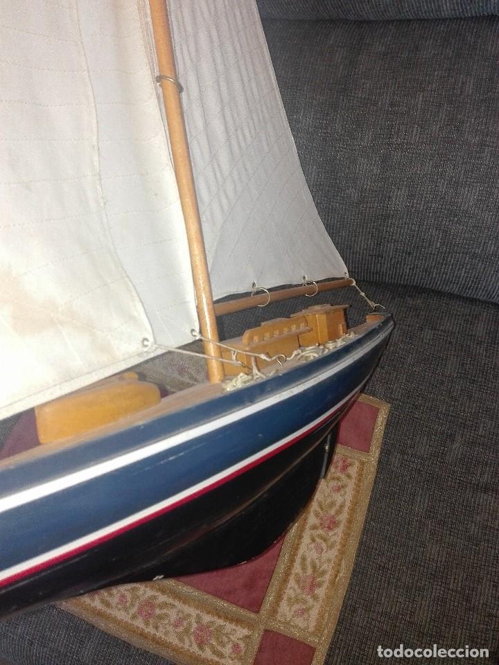Maquetas: Maqueta de velero antiguo.de madera y tela. - Foto 2 - 135015222