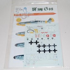 Maquetas: CALCAS 1/72 PARA BF 109 G6. Lote 135247130