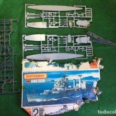 Maquetas: MAQUETA BARCO HMS TIGER DE MATCHBOX 1:700. Lote 135257790