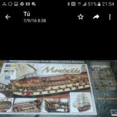 Maquetas: KIT NAVIO MONTAÑES OCCRE ENVIO INCLUIDO. Lote 135458181