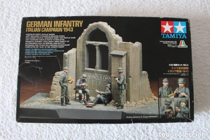 Maquetas: TAMIYA. ESCALA 1/35 - GERMAN INFANTRY ITALIAN CAMPAIGN 1943 + 3 KITS DE ACCESORIOS - Foto 2 - 136186658