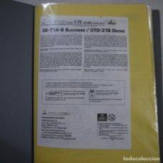 Maquetas: BOOK ARTESANAL CON INSTRUCCIONES Y CALCAS DE MAQUETAS. Lote 136304046