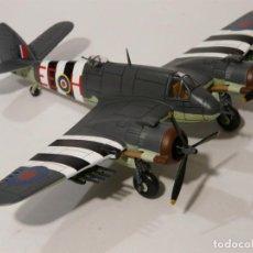 Maquetas: BEAUFIGHTER MK.X 404 SQN RCAF CANADA RAF COASTAL COMMAND UK ALTAYA DIECAST 1/72. Lote 136310870