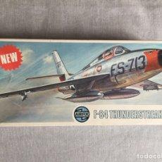 Maquetas: F-84 THUNDERSTREAK 1:72 AIRFIX MAQUETA AVION. Lote 136318082