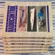 Maquetas: TECNICAS DE RADIOCRONTROL Y MODELISMO. ENCICLOPEDIA. 6 TOMOS, COMPLETA.. Lote 136818178