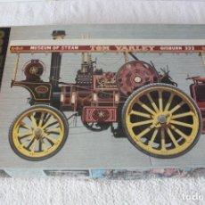 Maquetas: BANDAI. ESCALA 1/16: PENDLE PRINCESS GARRET 1919 STEAM TRACTION ENGINE - MADE IN JAPAN . Lote 136844182