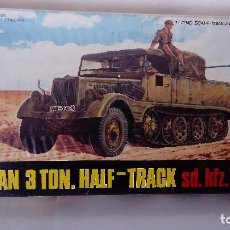 Maquetas: MAQUETA GERMAN 3 TON.HALF- TRACK SD.KFZ.11-REF8015. Lote 136892386