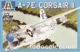 ITALERI - A-7E CORSAIR II 1224 1/72 (Juguetes - Modelismo y Radio Control - Maquetas - Aviones y Helicópteros)