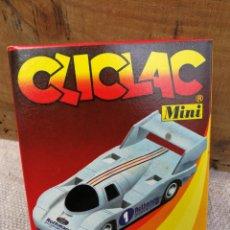 Maquetas: CLICLAC MINI- PORSCHE 956, (HELLER HUMBROL) MAQUETA MODEL KIT.. Lote 137133969