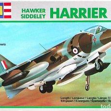 Maquetas: MAQUETA REVELL 1/144 HAWKER HARRIER GR.1 - SIN CAJA #4007. Lote 137155610