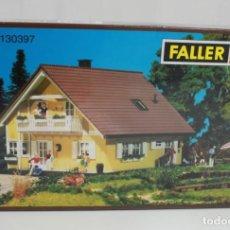 Maquetas: FALLER HO 130397 CASA PARA MAQUETA DE TREN. Lote 137161902