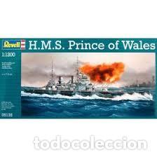 REVELL - H.M.S PRINCE OF WALES 1/1200 05135 segunda mano