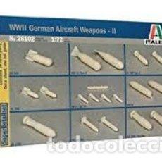 Maquetas: ITALERI - WWII GERMAN AIRCRAFTWEAPONS II 26102 1/72. Lote 137165402