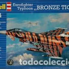 Maquetas: REVELL - EUROFIGHTER TYPHOON BRONCE TIGER 1/144 03970. Lote 137217302