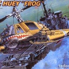 Maquetas: MAQUETA 1/35 - UH-1C HUEY FROG ACADEMY - NR. 2196 - 1:35. Lote 137404474