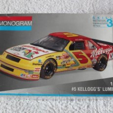 Maquetas: REVELL MONOGRAM. ESCALA 1/24 - KELLOGG´S LUMINA - MADE IN USA 1994. Lote 137405842