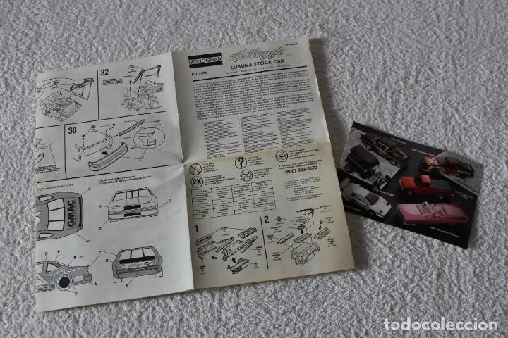 Maquetas: REVELL MONOGRAM. ESCALA 1/24 - KELLOGG´S LUMINA - MADE IN USA 1994 - Foto 7 - 137405842