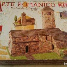 Maquetas: DOMUS KITS - ARTE ROMANICO S. PEDRO DE LARREDE ESCALA 1:60. Lote 137422634