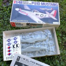 Maquetas: MAQUETA P-51D MUSTANG- U.S.A.AIR FORCE FIGHTER PLANE 1/48- HOBBY CRAFT.. Lote 137506998