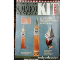 Maquetas: MAQUETA CAMPANILE DE S. MARCO. VENEZIA. ITALIA. Lote 137649730