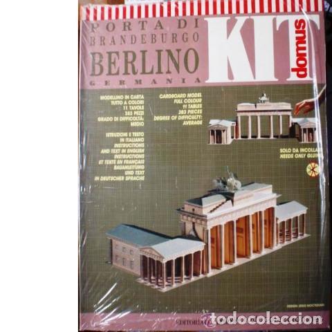 MAQUETA PUERTA DE BRANDEBURGO (Juguetes - Modelismo y Radiocontrol - Maquetas - Construcciones)