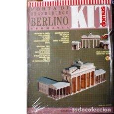 Maquetas: MAQUETA PUERTA DE BRANDEBURGO. Lote 137651046