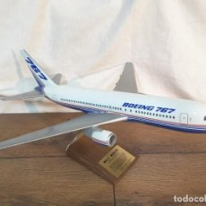 Maquetas: BOEING 767 DE DIRECTIVO DE LA COMPAÑÍA, 1985. Lote 137674390