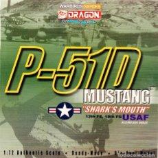 Maquetas: MAQUETA AVIÓN P-51 MUSTANG, SHARKS MOUTH – KOREAN WAR, REF. 50040, 1/72, DRAGON WARBIRDS. Lote 137779146