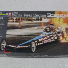 Maquetas: REVELL. ESCALA 1/25 - DON GARLITS REAR ENGINE DRAGSTER (REF 7359) - MADE IN GERMANY 1993. Lote 137846574