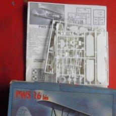Maquetas: INCOMPLETO. PWS 16 BIS ESCALA 1/72. Lote 137875254