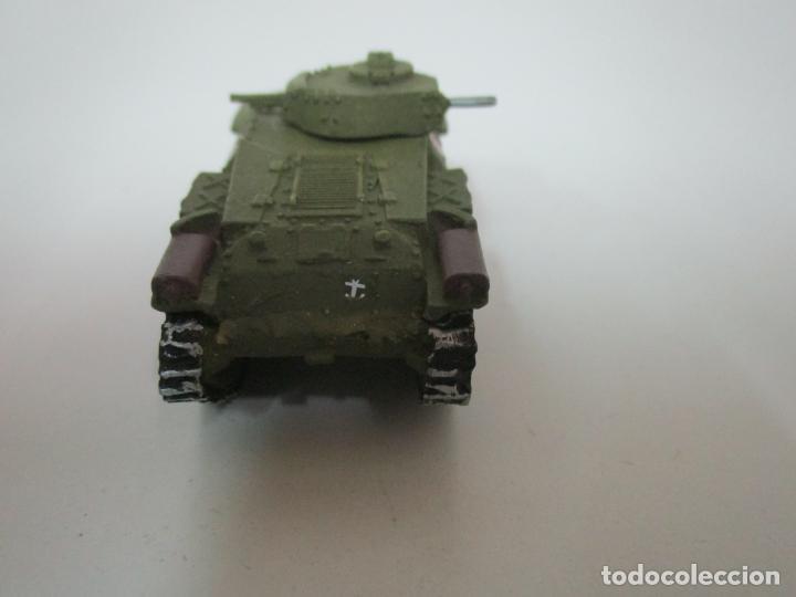 Maquetas: Carros de Combate - Lote, Colección 27 Tanques - Juguete de Plomo, Tanque - Escala 1/87 - con Funda - Foto 7 - 137971442