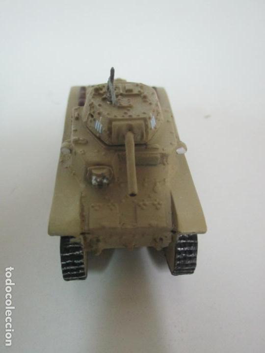 Maquetas: Carros de Combate - Lote, Colección 27 Tanques - Juguete de Plomo, Tanque - Escala 1/87 - con Funda - Foto 11 - 137971442