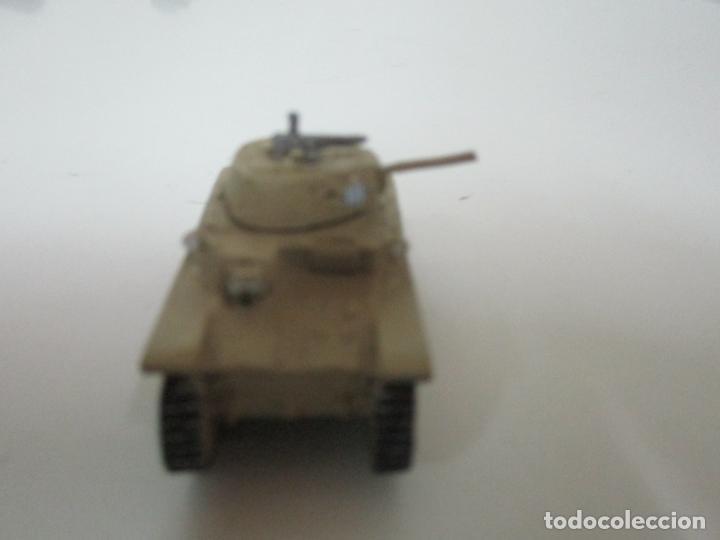 Maquetas: Carros de Combate - Lote, Colección 27 Tanques - Juguete de Plomo, Tanque - Escala 1/87 - con Funda - Foto 12 - 137971442