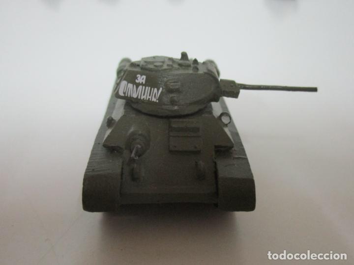 Maquetas: Carros de Combate - Lote, Colección 27 Tanques - Juguete de Plomo, Tanque - Escala 1/87 - con Funda - Foto 15 - 137971442