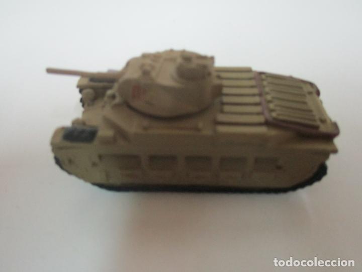 Maquetas: Carros de Combate - Lote, Colección 27 Tanques - Juguete de Plomo, Tanque - Escala 1/87 - con Funda - Foto 21 - 137971442