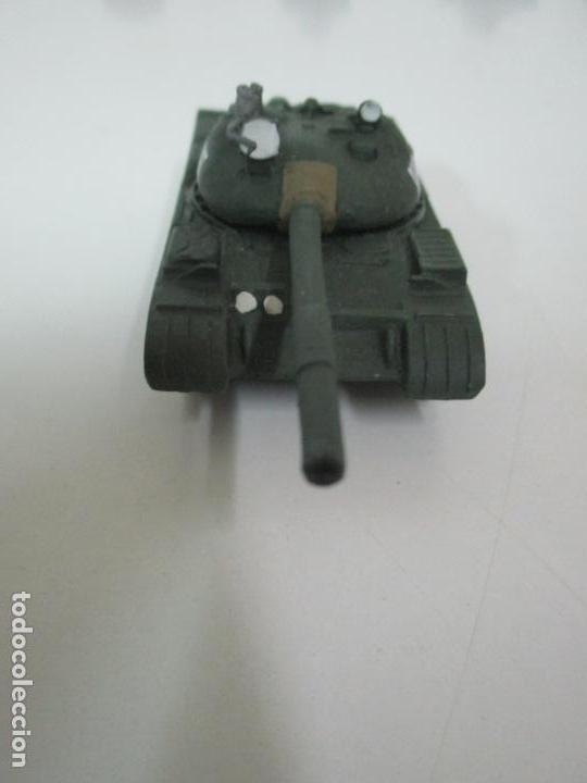 Maquetas: Carros de Combate - Lote, Colección 27 Tanques - Juguete de Plomo, Tanque - Escala 1/87 - con Funda - Foto 22 - 137971442