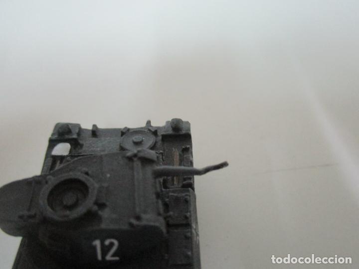 Maquetas: Carros de Combate - Lote, Colección 27 Tanques - Juguete de Plomo, Tanque - Escala 1/87 - con Funda - Foto 26 - 137971442