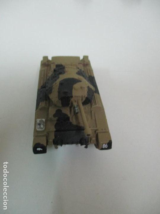 Maquetas: Carros de Combate - Lote, Colección 27 Tanques - Juguete de Plomo, Tanque - Escala 1/87 - con Funda - Foto 37 - 137971442