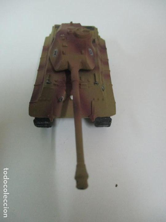 Maquetas: Carros de Combate - Lote, Colección 27 Tanques - Juguete de Plomo, Tanque - Escala 1/87 - con Funda - Foto 46 - 137971442