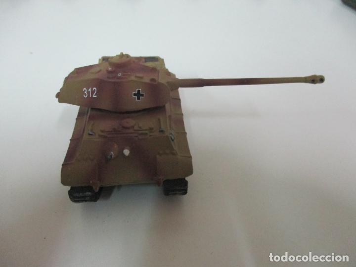 Maquetas: Carros de Combate - Lote, Colección 27 Tanques - Juguete de Plomo, Tanque - Escala 1/87 - con Funda - Foto 47 - 137971442