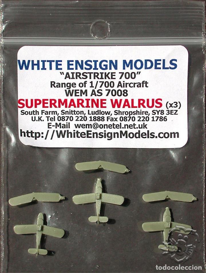 MAQUETA WHITE ENSIGN MODELS 1/700 SUPERMARINE WALRUS #AS 7008 (Juguetes - Modelismo y Radiocontrol - Maquetas - Barcos)