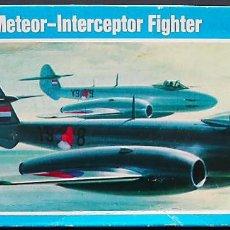 Maquetas: MAQUETA NOVO 1/72 GLOSTER METEOR F.IV #78077 (F200). Lote 138799650